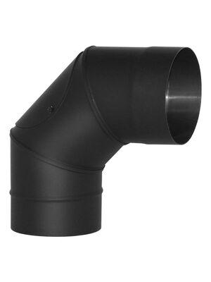 Отвод VBR 90°, нерж., черный (Вулкан)