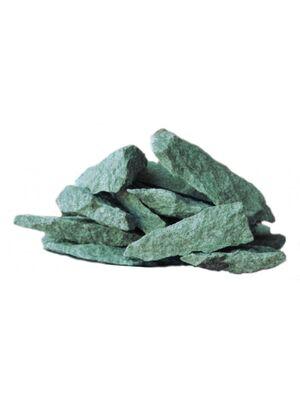 Камни для бани Жадеит колотый (ведро 10 кг)