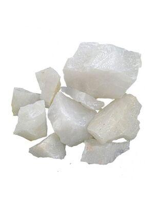 Камни для бани Кварц колотый (жаркий лед), ведро 10 кг