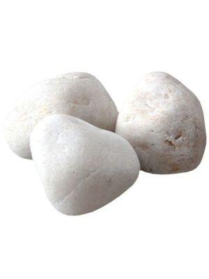 Камни для бани Кварц отборный обвалованный (ведро 10 кг)