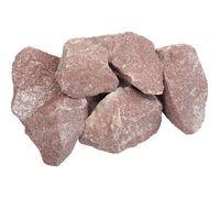 Камни для бани Малиновый кварцит, коробка 20 кг