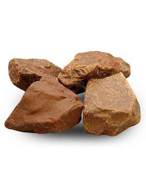 Камни для бани Яшма обвалованная (ведро 10 кг)