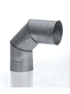 Отвод дымохода 90° (3-х сегм) (ОТ 90) - КДМ