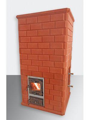 """Печь для бани КДМ """"Малиновые камни"""" с обращённым пламенем (ПБ-ОП)"""