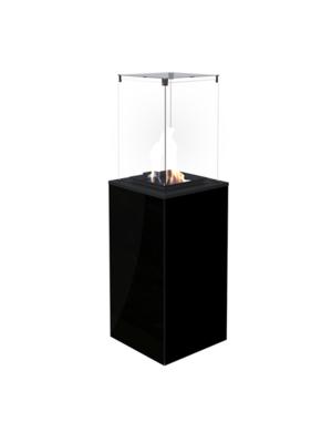 Газовый обогреватель Kratki PATIO/MINI/M/G30/37MBAR/CZ (уличный) - черное стекло, с ручным упр. (8,2кВт)