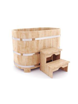 Купель овальная для маленькой бани — НКЗ