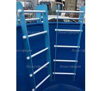 Лестница для пластиковой купели