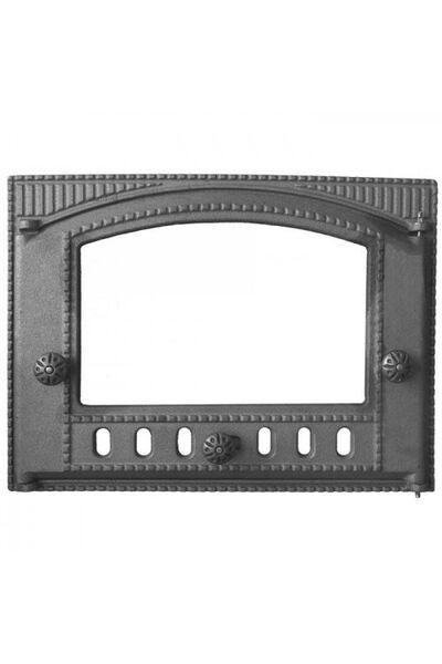 Дверка ДТК-2С (Р) каминная под стекло НЕКРАШЕННАЯ