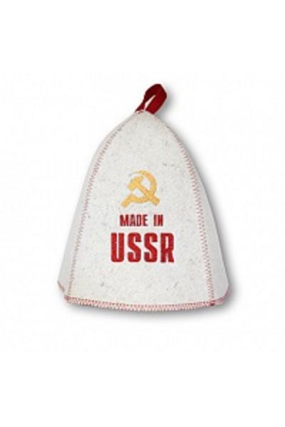 Шапка банная СССР, войлок (Б406)