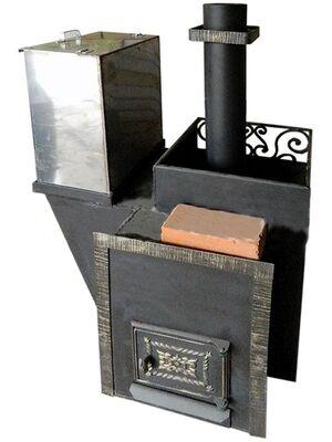 Печь для бани Колокол 40 на три отделения