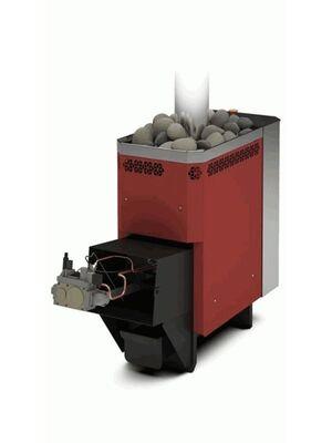 Печь для бани Сахара 10 ЛБ с АГГ13П - Теплодар