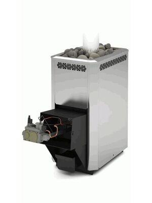 Печь для бани Сахара 16 ЛНЗП ПРОФИ с АГГ 20П - Теплодар