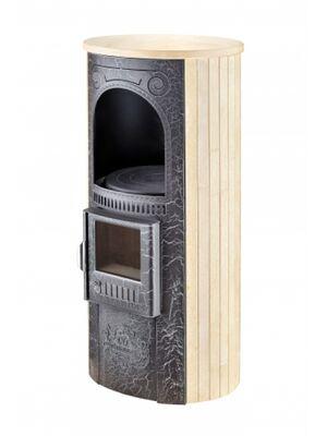 Печь-камин «Лада» в облицовке «Ламель» - Сильвия Оро - Ферингер