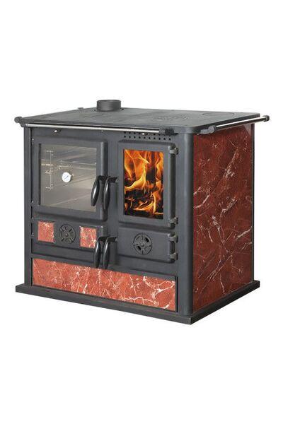 Чугунная печь-камин Fireway Gotz L с духовкой и варочной плитой