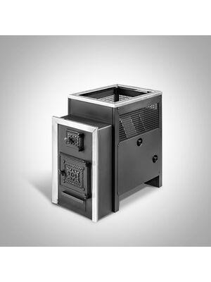 Печь для бани Радуга ПБ-22 (6 мм) c теплообменником