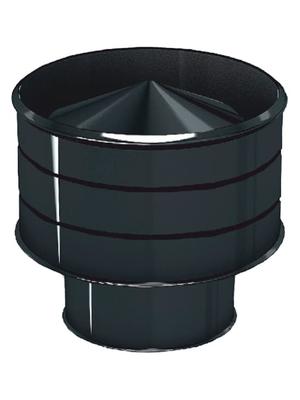 Дефлектор эмалированный Д, 0,8 мм, d 115 мм - AGNI