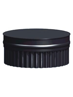 Заглушка глухая П, эмалированная, 0,8 мм, d 115 мм - AGNI