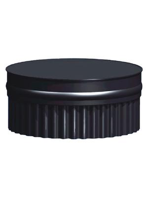 Заглушка глухая П, эмалированная, 0,8 мм, d 120 мм - AGNI