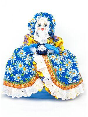 Кукла-грелка на чайник №1
