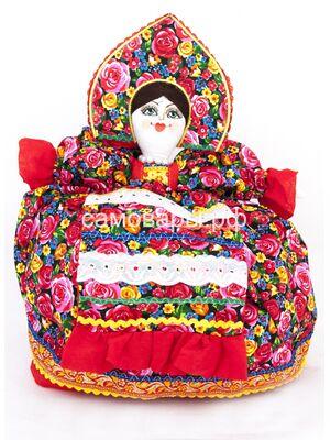 Кукла-грелка на чайник №11