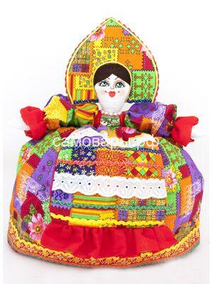 Кукла-грелка на чайник №19