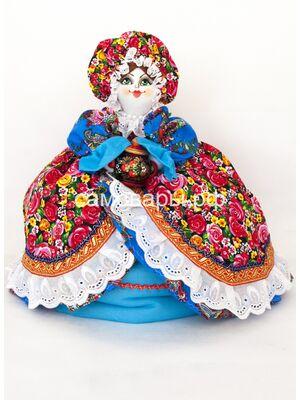Кукла-грелка на чайник №27