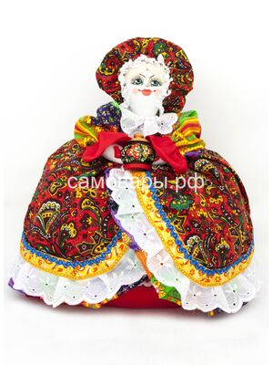 Кукла-грелка на чайник №3
