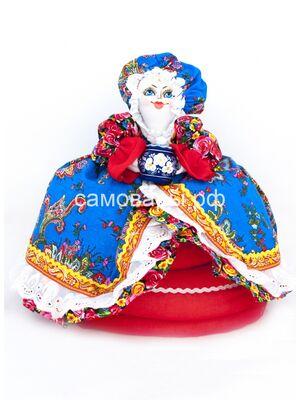Кукла-грелка на чайник №4
