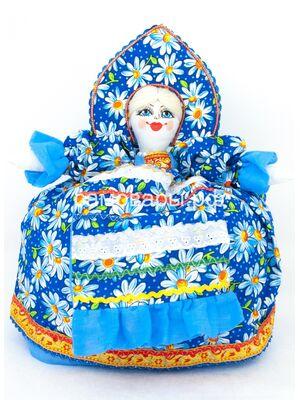 Кукла-грелка на чайник №5