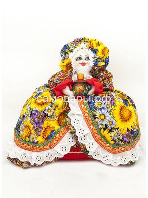 Кукла-грелка на чайник №51