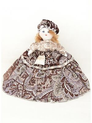 Кукла-грелка на чайник №65