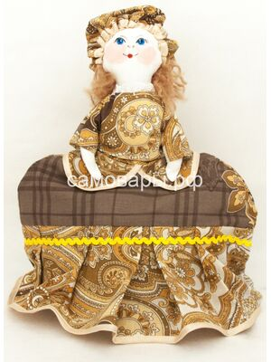Кукла-грелка на чайник №69