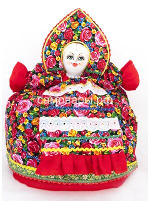Кукла-грелка на чайник №7