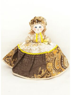 Кукла-грелка на чайник №71