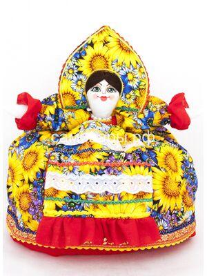 Кукла-грелка на чайник №9