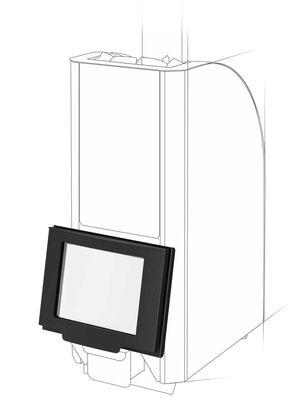 Дверца со стеклом Robax12 - Теплодар