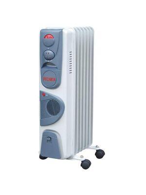 Масляный радиатор напольный ОМ-7НВ с тепловентилятором - Ресанта