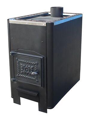 Отопительная печь Варвара Уют 1-конфорочная с верхним дымоходом