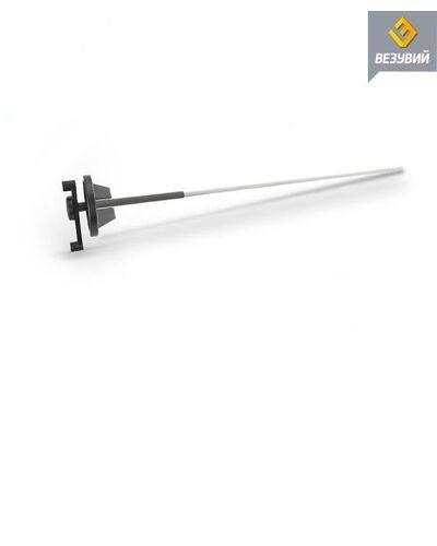 Ручка для чугунного поворотного Шибера L-500 мм Везувий