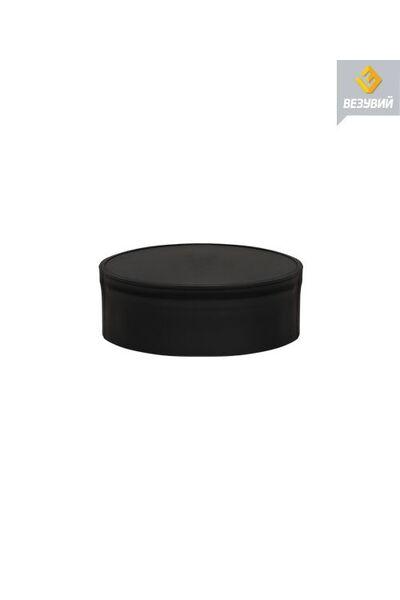 Заглушка BLACK глухая внутренняя (AISI 430- 05 мм) Ø200